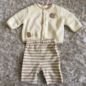 Treasures outfit boy set 0-3M bear bundle 3 set